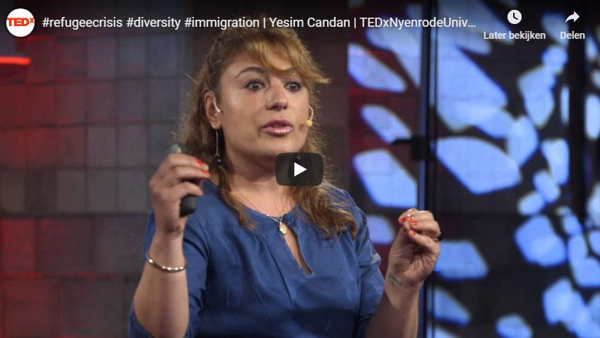 #refugeecrisis-#diversity-#immigration-Yesim-Candan-TEDxNyenrodeUniversity
